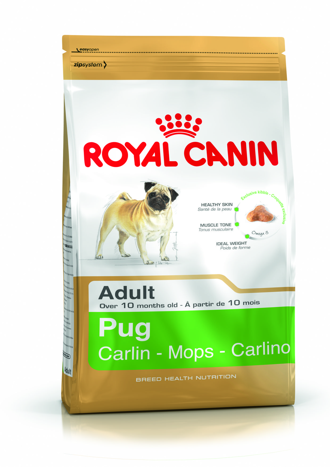 Royal Canin Pug Adult - 3 kg