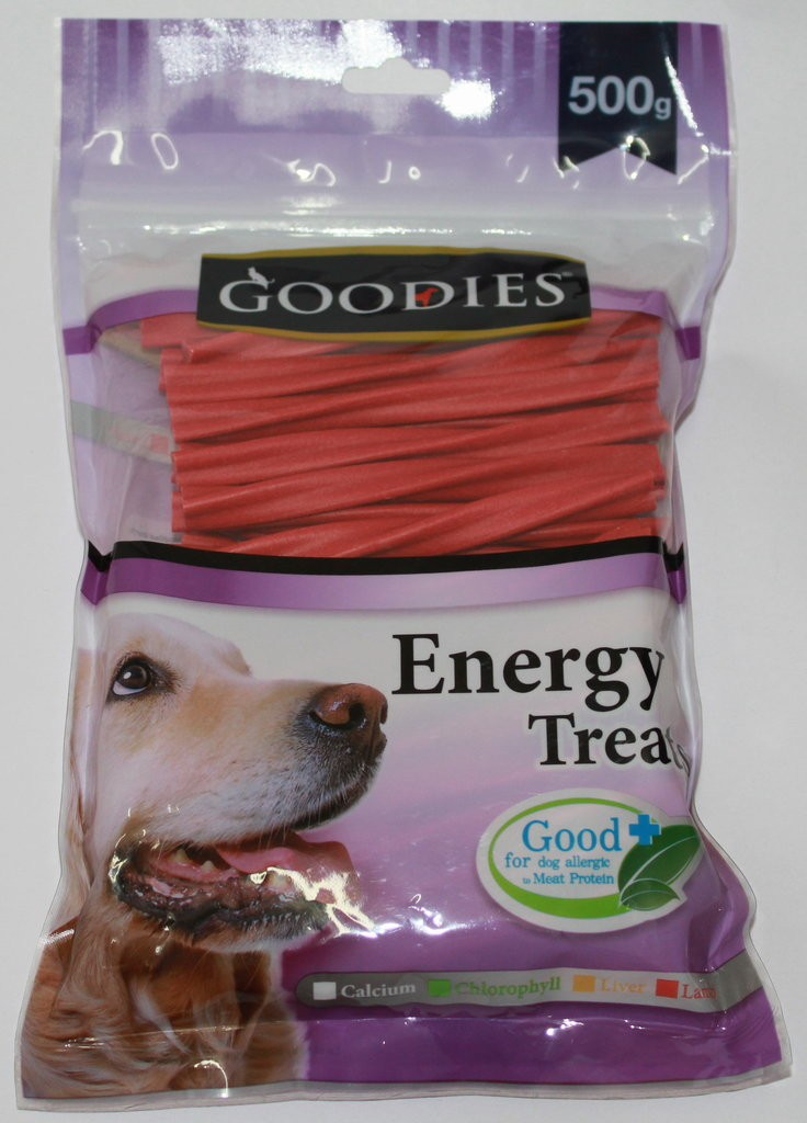 Goodies Energy Dog Treats Lamb Flavored Sticks - 500g