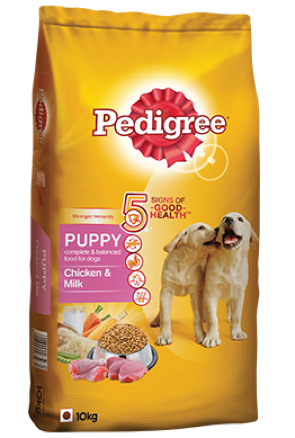 Pedigree Puppy Chicken & Milk - 10 kg
