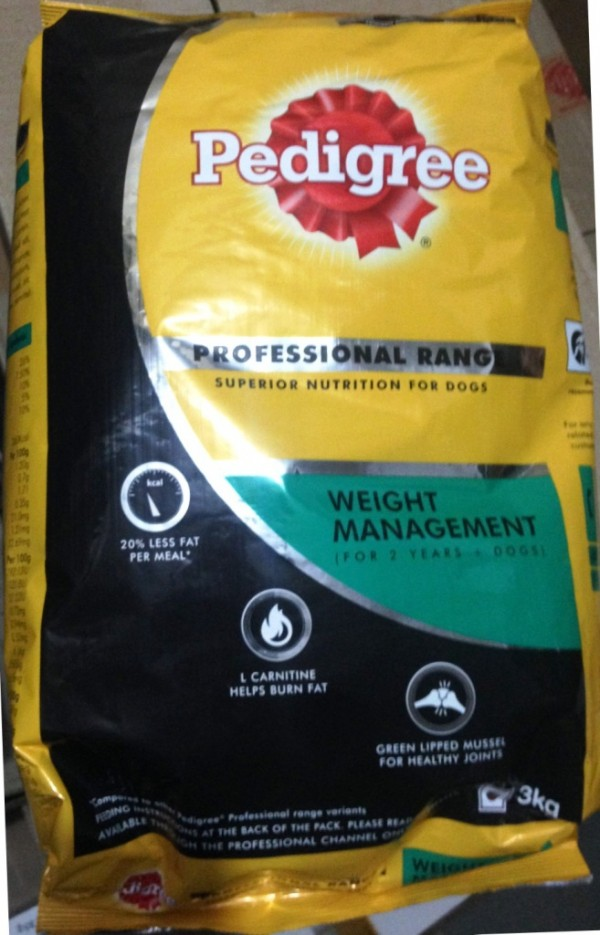 Pedigree Professional Weight Management 3 Kg