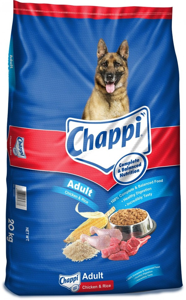 Chappi Adult chicken and rice 20 kg