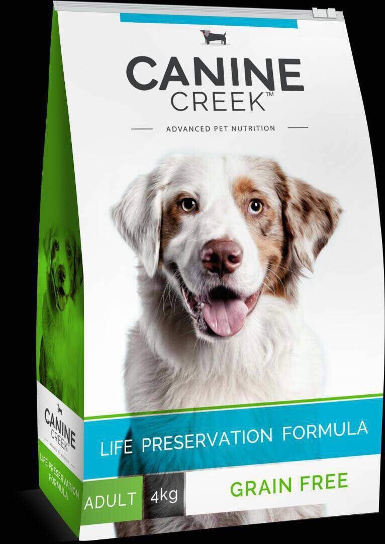 Canine Creek Grain Free Food for Adult 4 Kg