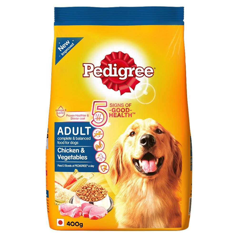 Pedigree Adult Chicken & Vegetable - 400 gm
