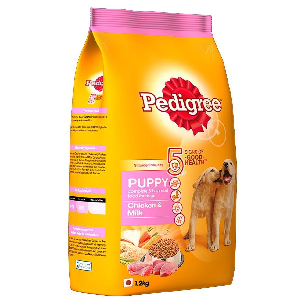 Pedigree Puppy Chicken & Milk-1.2 kg