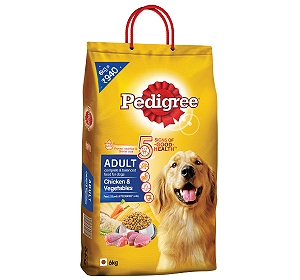 Pedigree Adult Chicken & Vegetables -6 kg