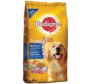 Pedigree Adult Chicken & Vegetables -10 kg