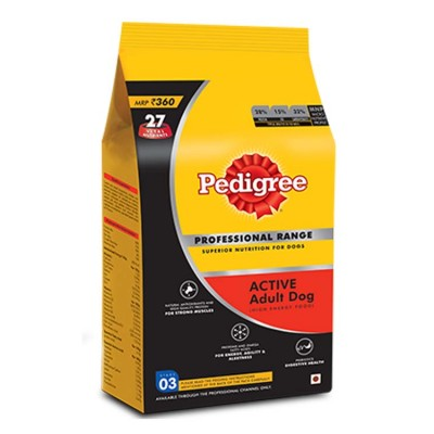 Pedigree Adult Active Professional -1.2 Kg