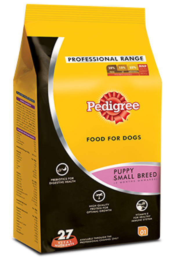 Pedigree Puppy Small Breed Professional- 3 Kg