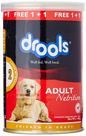 Drools Adult Chicken In Gravy Can - 400 Gm (Offer BUY 1 - GET 1 FREE)