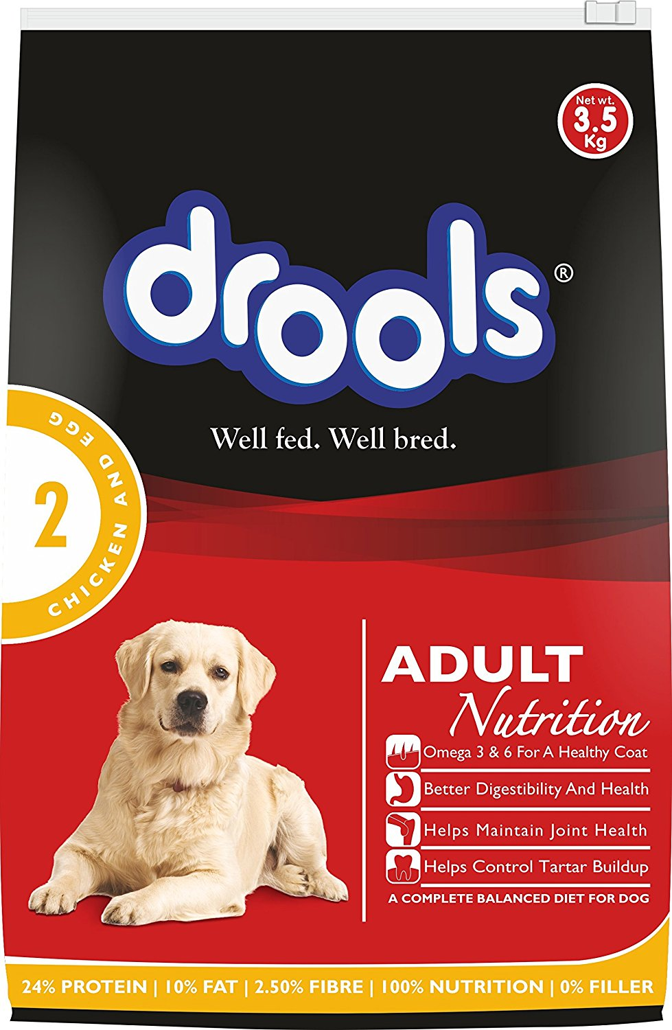 Drools Chicken and Egg Adult - 3.5 kg