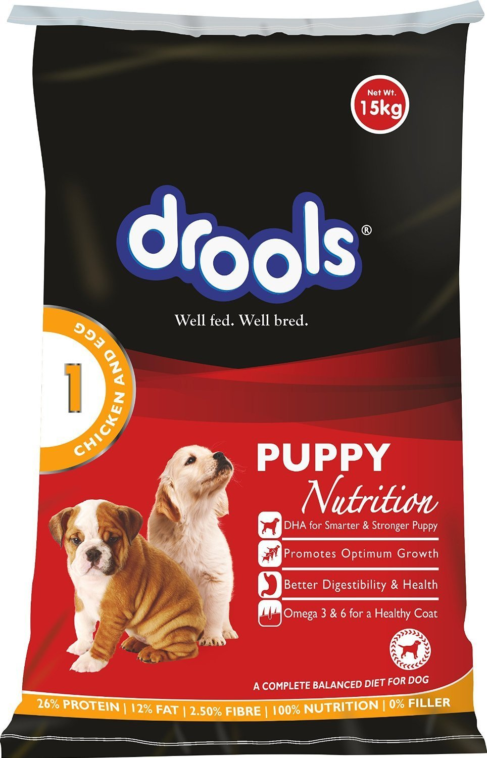 Drools Chicken and Egg Puppy - 15 kg