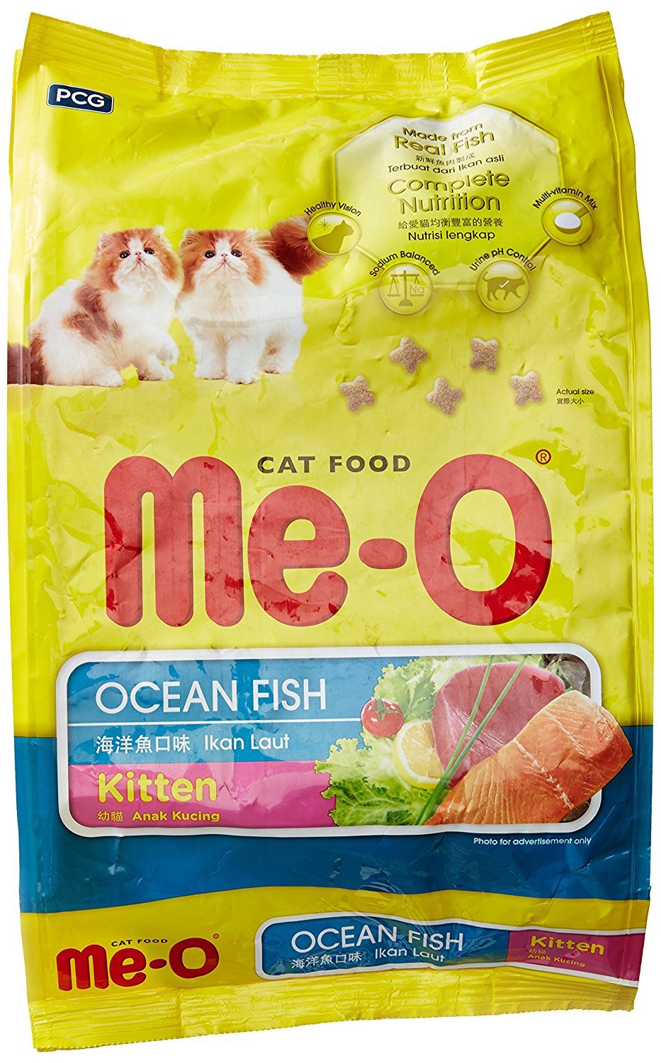 Me-O Kitten Food Ocean Fish 1.1 Kg