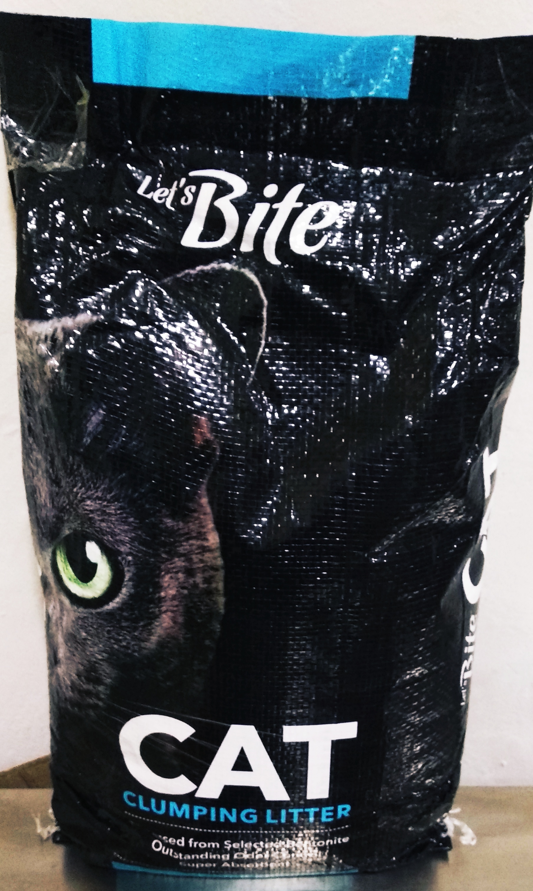 Let's Bite Cat Clumping Litter, Lavender Flavor - 6 Kg