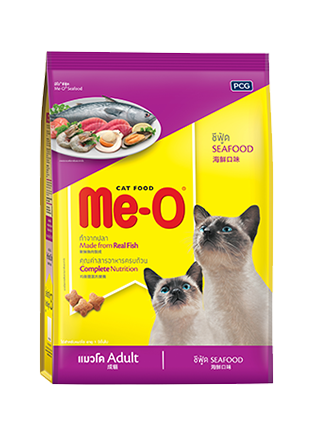 Me-O Seafood Adult Cat Food - 7 Kg