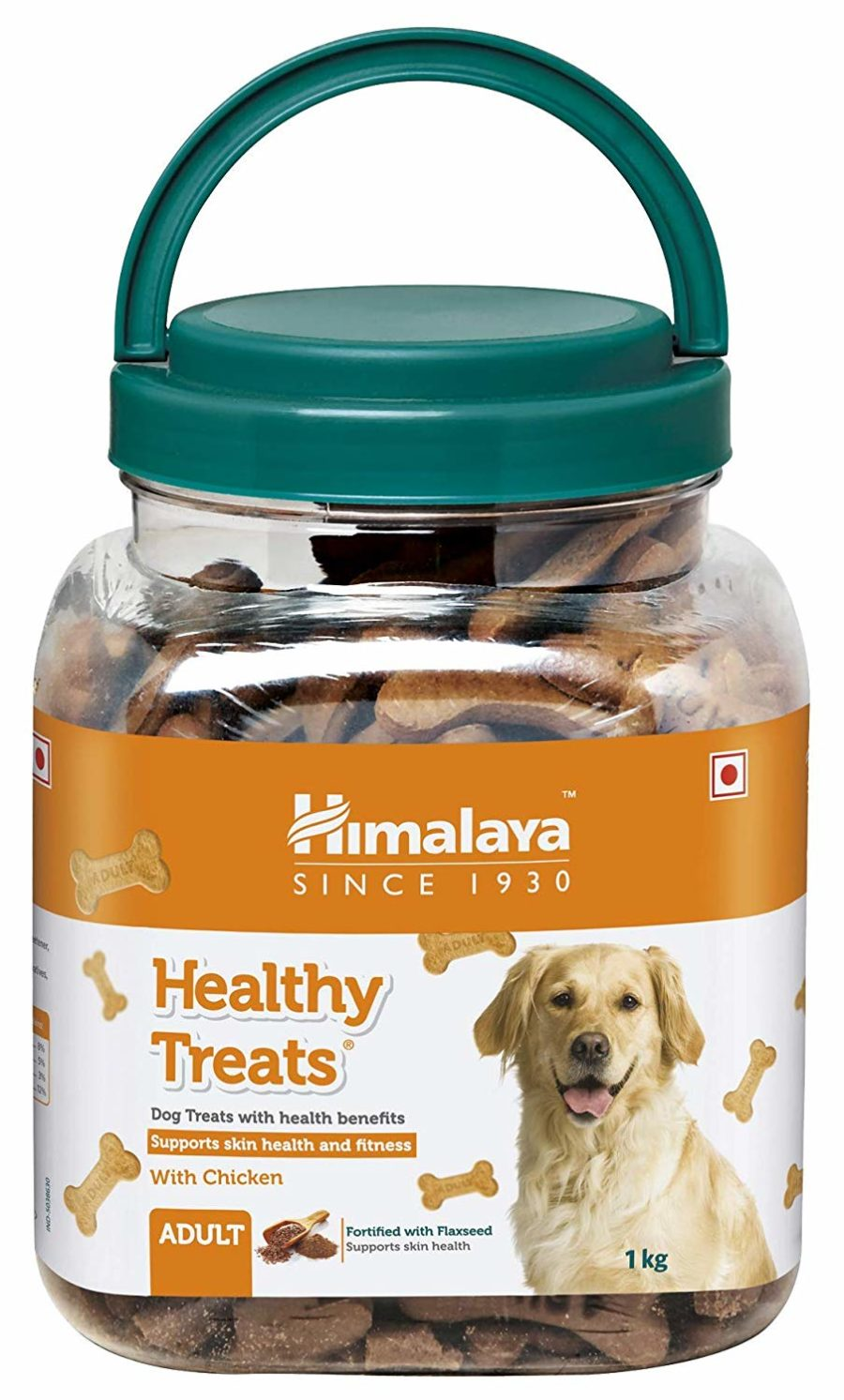 Himalaya Healthy Treats Adult, Chicken Flavour - 1 kg