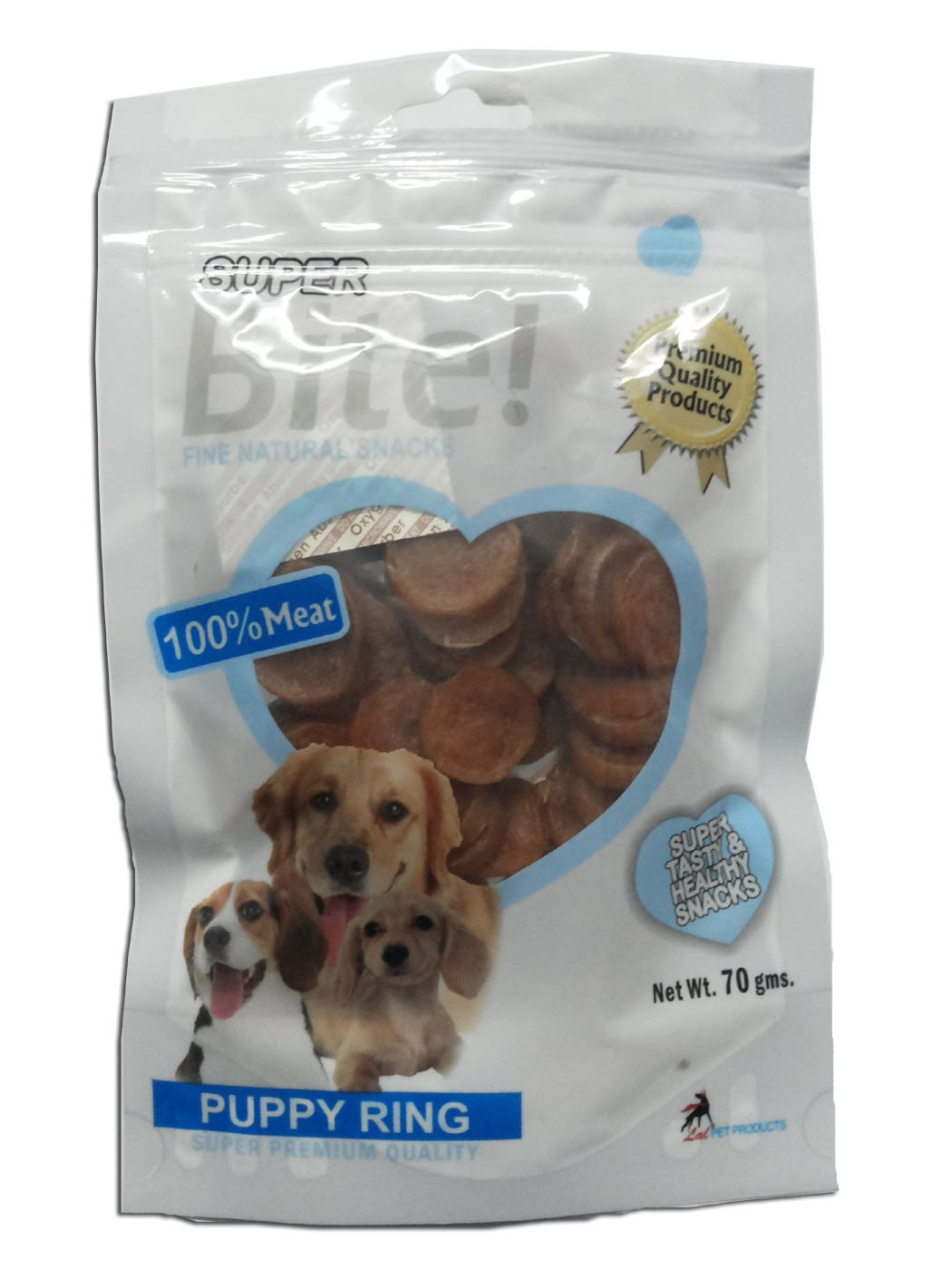 Super Bite Puppy Ring Treat - 70 gm