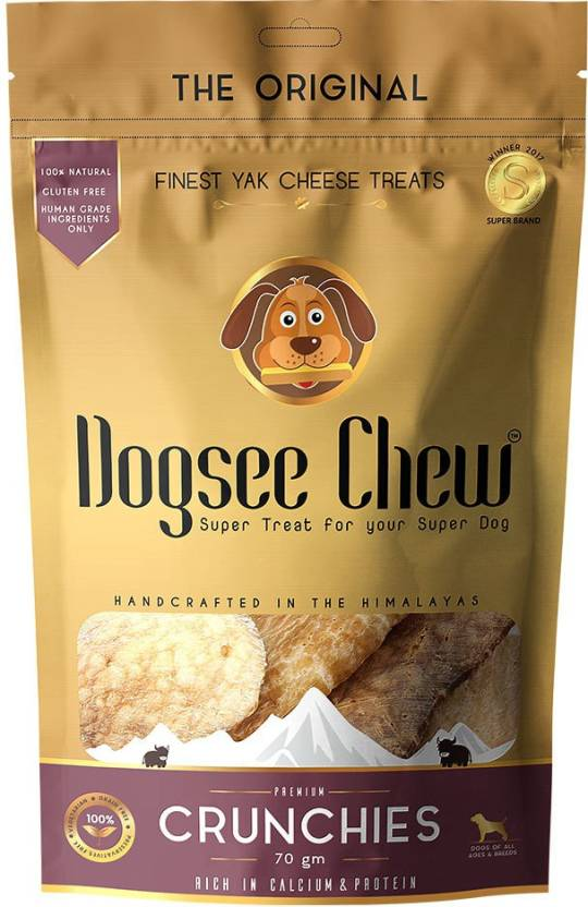 Dogsee Chew Crunchies Dog Treat - 70 gm