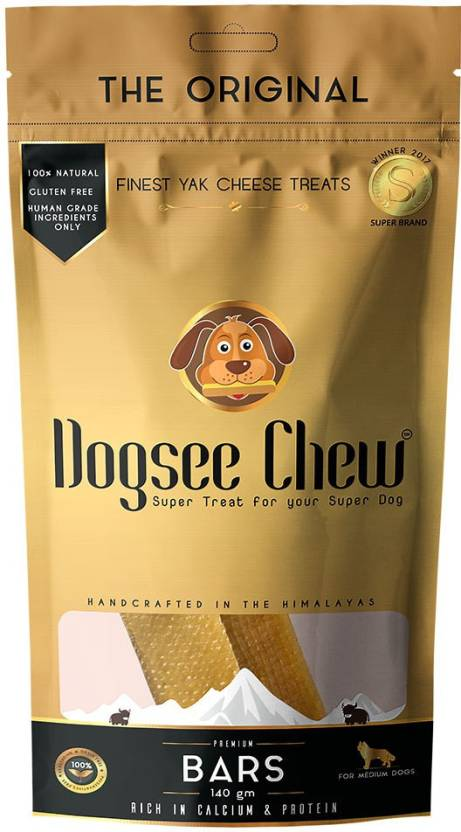Dogsee Chew Medium Bars Dog Treat - 140 gm