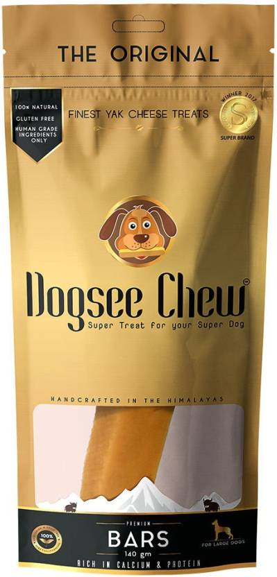 Dogsee Chew Large Bars Dog Treat - 140 gm