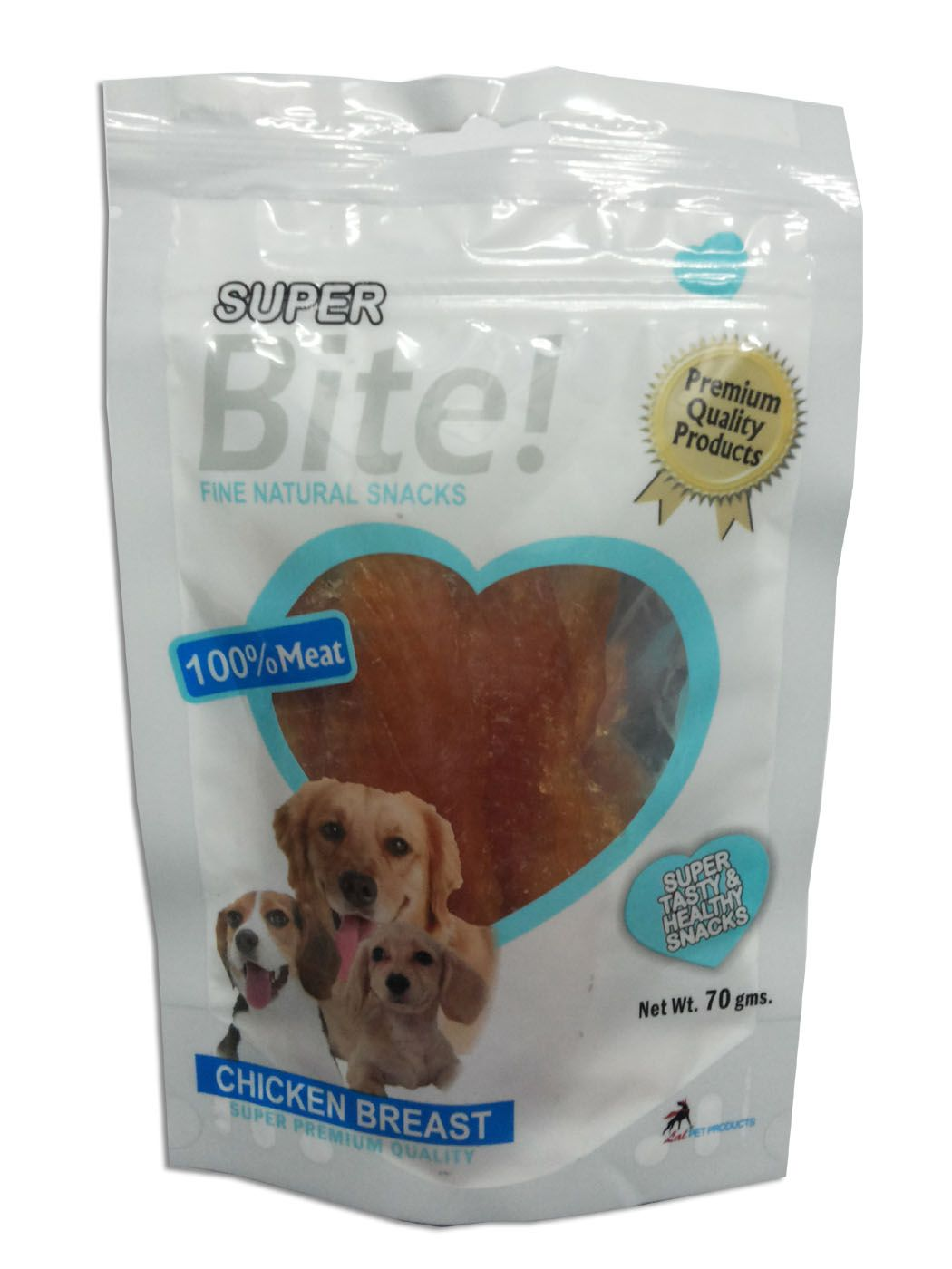 Super Bite Chicken Breast Dog Treats - 70 Gm