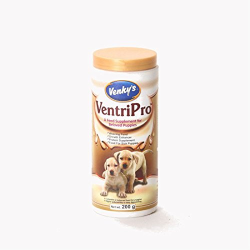 Venkys Ventripro Milk Replacement Supplement For Pets - 200 gm