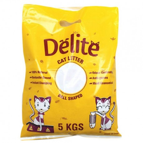 Delite Cat Litter For Cats - 5 Kg