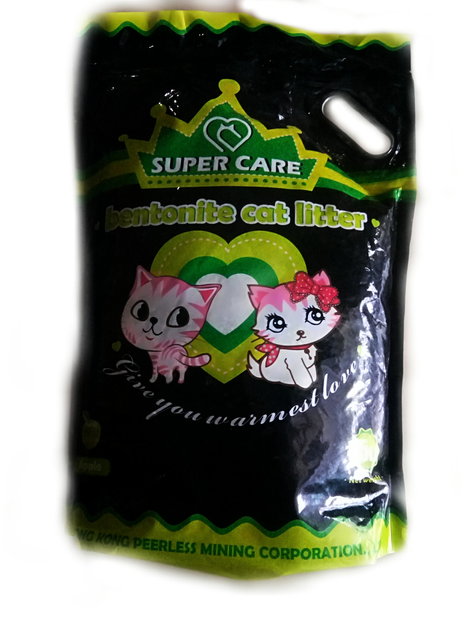 Super Care Bentonite Cat Litter Apple Flavor - 5L