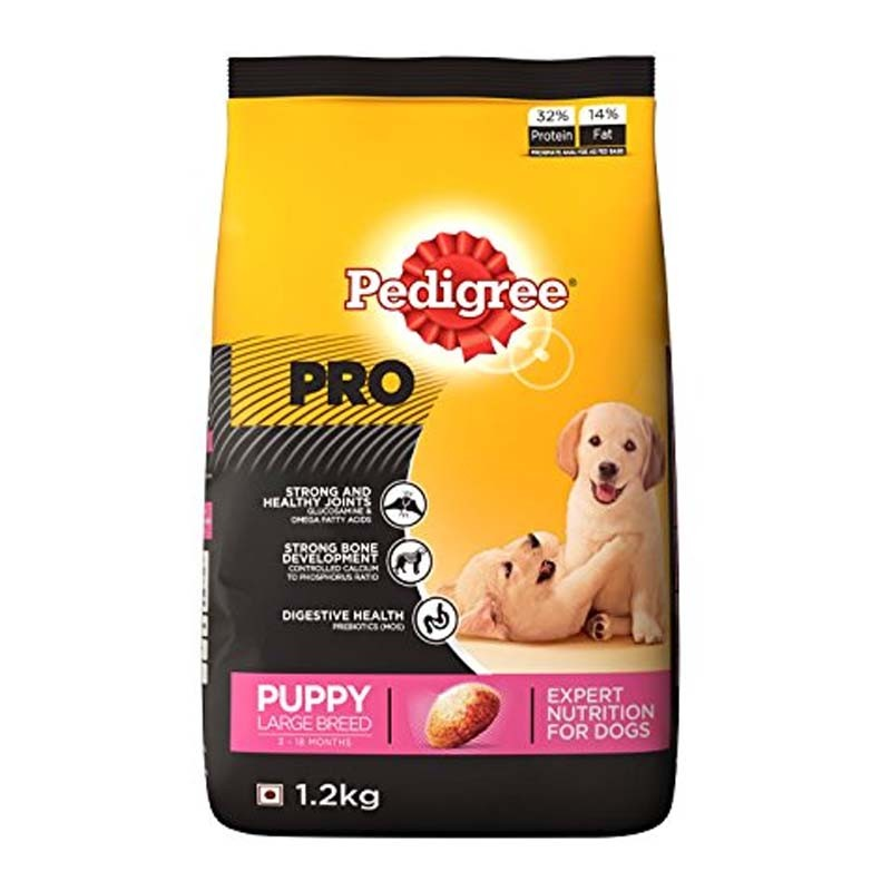 Pedigree PRO Puppy Large Breed - 1.2 Kg