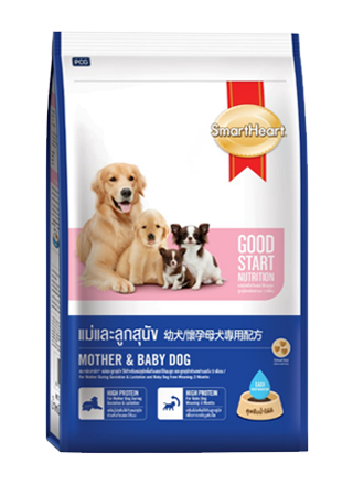 Smart Heart Mother and Baby Dog Food - 2.6 Kg