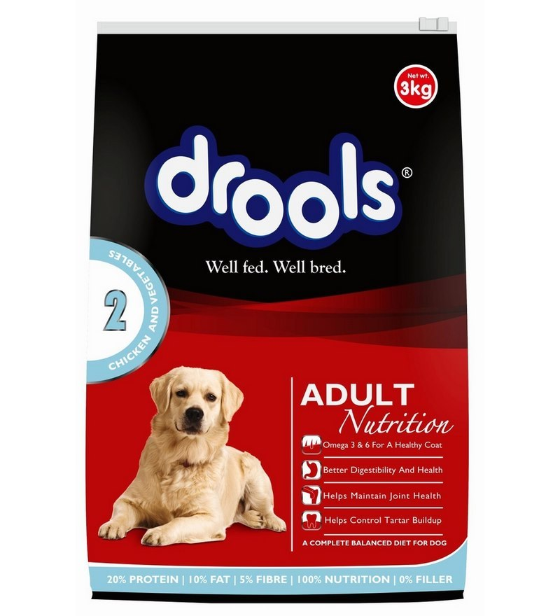 Drools Chicken and Vegetable Adult - 3 kg