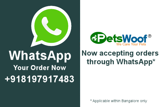 Petswoof now accepting orders through whatsapp